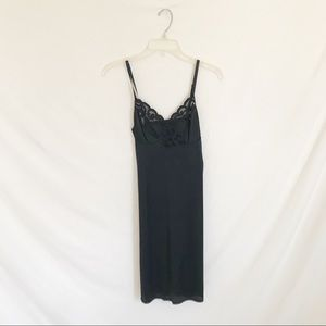 Dresses & Skirts - Lace and Nylon Slip Dress
